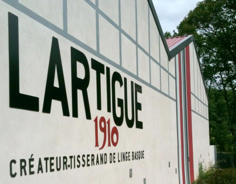 TISSAGE LARTIGUE 1910