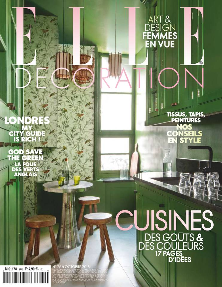 Elle Decoration Octobre 2018 - Couverture
